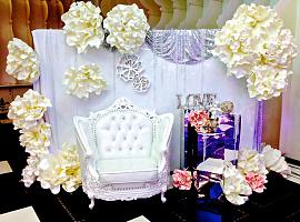Фотозона. Ювелирная свадьба