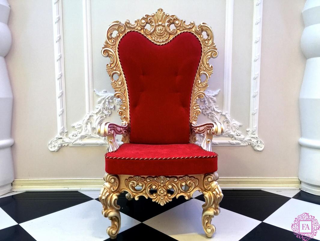 Красивый трон фото простого узора