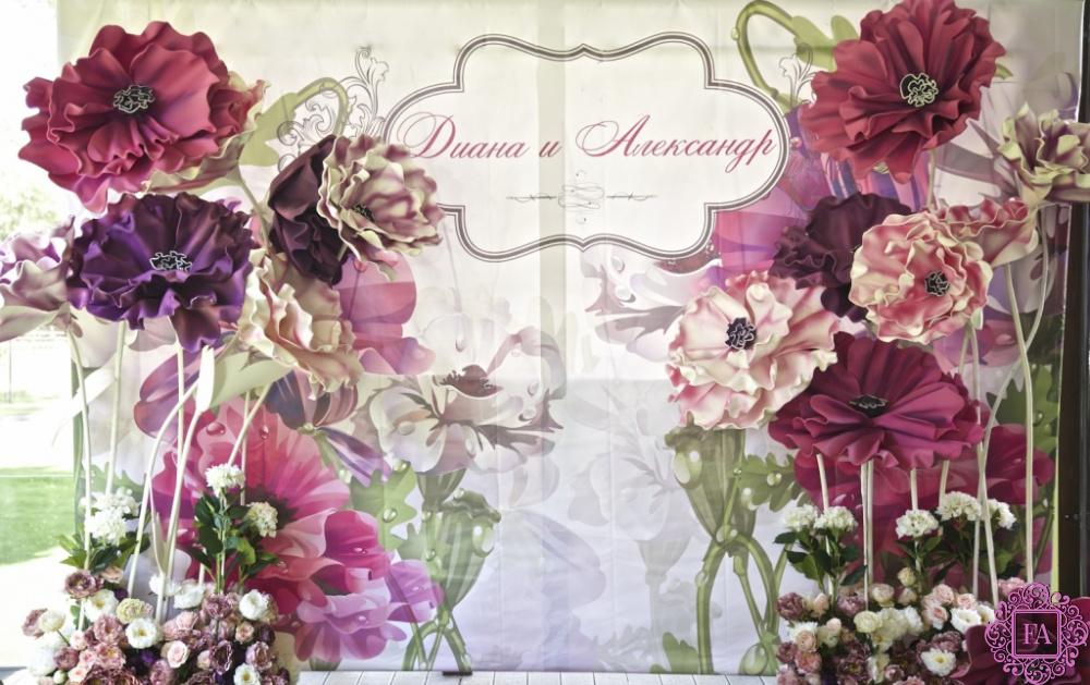 5bcb4fe8cb4f0 Большие цветы для оформления зала, свадеб и фотосессий, огромные ...